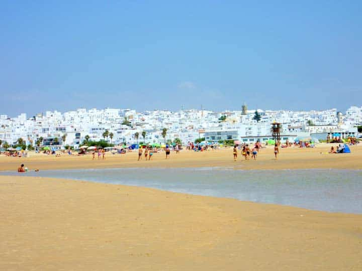 playa los bateles conil